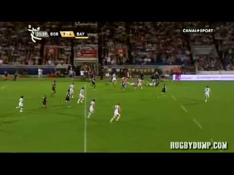 Bordeaux vs Bayonne - Top 14 Match Highlights Rd.2 2011 - Bordeaux vs Bayonne - Top 14 Match Highlig
