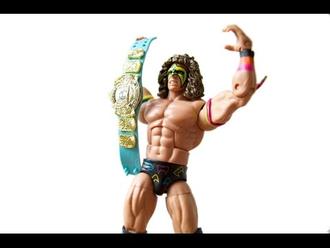 Ultimate Warrior HOF WWE Mattel Elite Exclusive Unboxing & Review!!