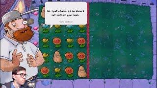 Зомби против растений 1 прохождение мини игры