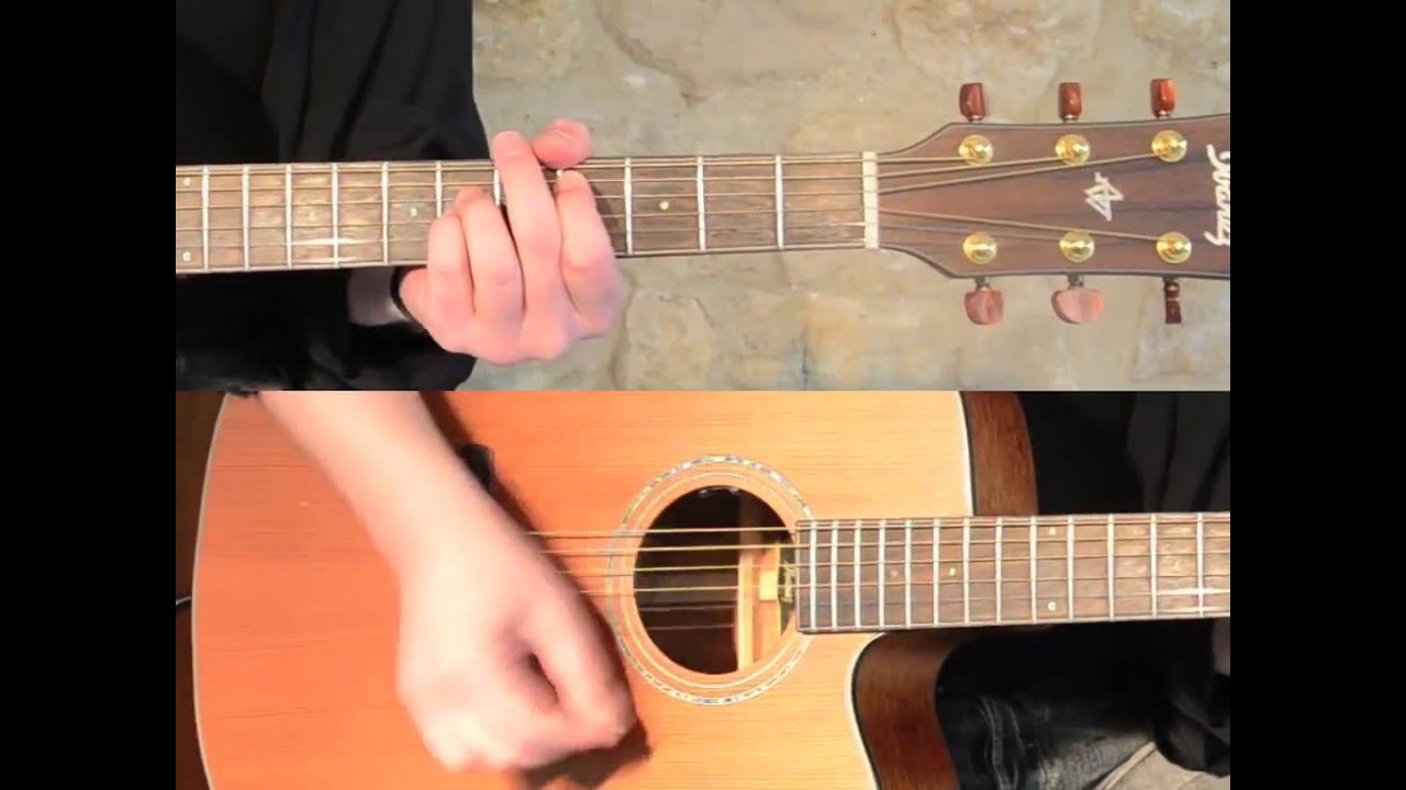 how to play wish you were here solo