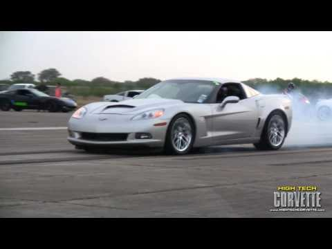 Corvettes - The Texas Mile - March 2011