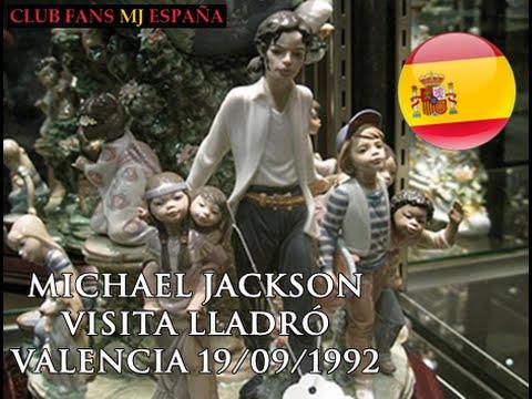 MICHAEL JACKSON - Valencia, visita a la fábrica de Lladró ( 19/09/1992 )