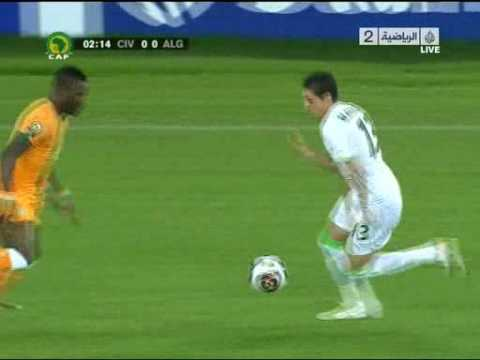 Cote D'ivoire v Algerie_1st Half_1.avi by badro Music Videos