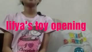 Lifya lunar New year toy opening