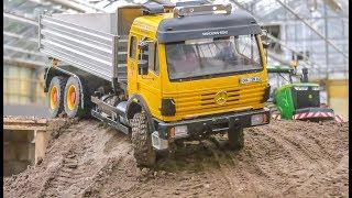Incredible RC Machines! Trucks! Tractors! Train! Big Action!