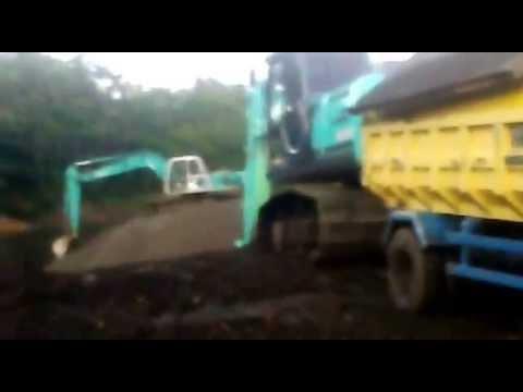 Tambang pasir cor cidadap kabupaten Tasikmalaya