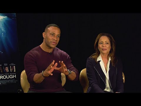 """Interview: DeVon Franklin And Roxann Dawson On Film """"Breakthrough""""   Sharee Silerio"""