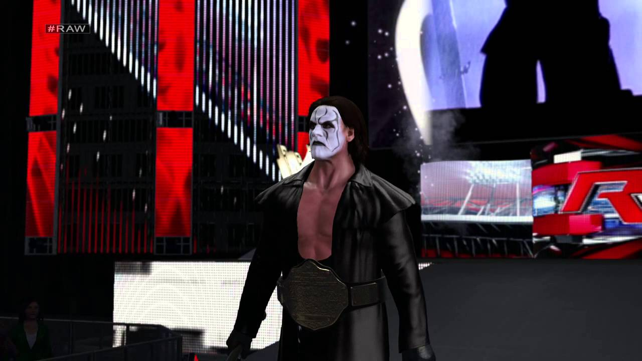 WWE 2K15- Sting '99 Entrance [PS4] - YouTube