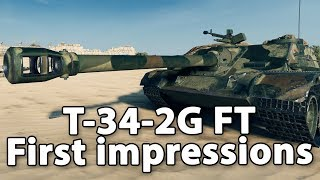 T-34-2G FT - First Impressions