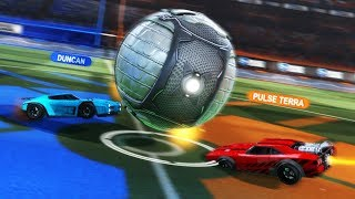 BOOMER 1V1 TEGEN PULSE TERRA | Rocket League