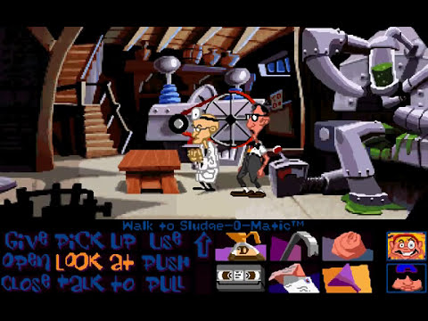 Day of The Tentacle walkthrough