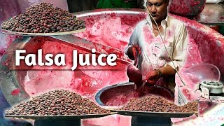 Falsa Sharbat | Falsa Juice | Street Food Of Karachi Pakistan