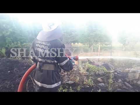 Հրշեջները կանխել են  «Եռաբլուր» պանթեոնի հարևանությամբ առաջացած հրդեհի տարածումը