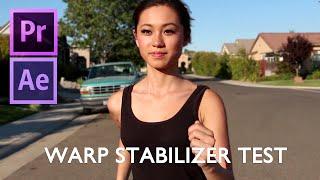 Warp Stabilizer Test Shots in Premiere Pro / After Effects