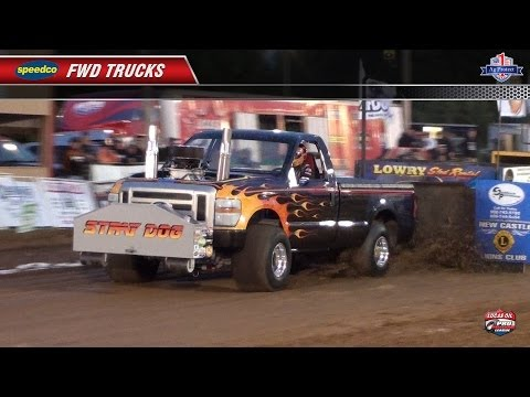 PPL 2014: 4wd Trucks pulling at New Castle, KY