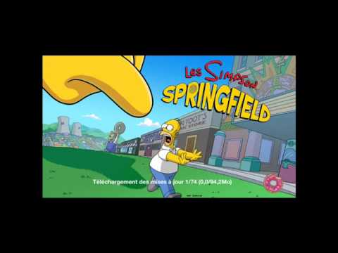 Hack/Android] Les Simpson Springfield v 4.2.4 Donuts/Argents