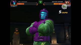 Quête BP : Jour de l'infini (Jour 14) mode expert et difficile - Marvel Contest of Champions