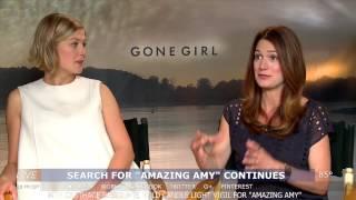 Rosamund Pike & Gillian Flynn interview - GONE GIRL
