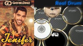 Real Drum 🎶Jenifer - Gabriel Diniz🎶 Nilkson Drummer