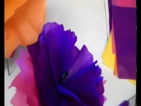 como hacer florero con flores para el dia de la madre manualidades