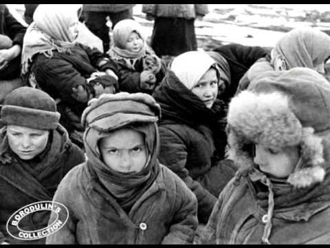 900 дней и ночей блокады Ленинграда - YouTube