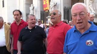 """CORO GERBERTO Città di BOBBIO """" Me Compare Giacometo """""""