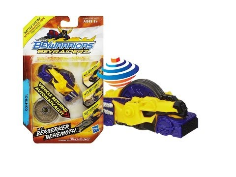 Beyblade BeyRaiderz Berserker Behemoth Vehicle Unboxing Review Giveaway Exp Feb 23rd