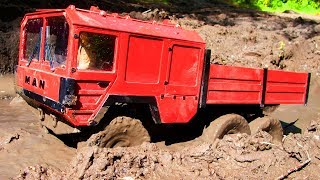 RC Cars MUD OFF Road — MAN KAT1 RC4WD Beast 6x6, WLtoys 10428, HG 401 Part 2 — RC Extreme Pictures