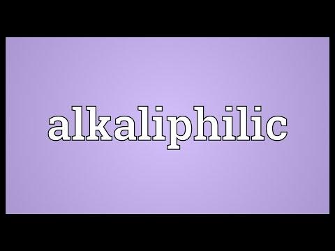 Header of Alkaliphilic
