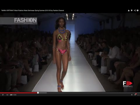 MARA HOFFMAN Miami Fashion Week Swimwear Spring Summer 2015...