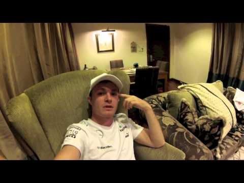 Nico Rosberg video message Malaysian GP 2013: