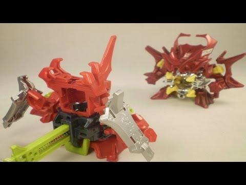 Cross Fight B-Daman - Battle #2 - Assault=Dragren vs. Force=Dragren