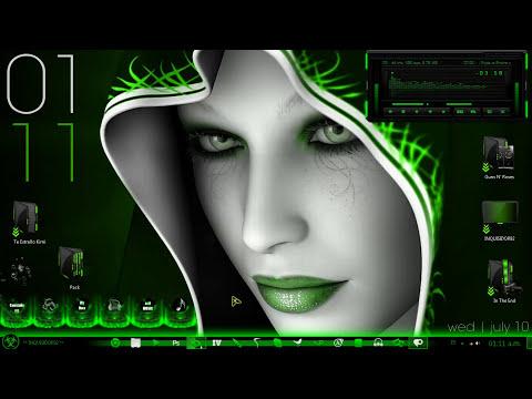 Pack De Personalizacion Verde Para Windows 7 - 2014