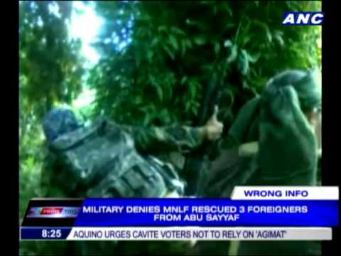 No MNLF rescue of Abu Sayyaf victims  military