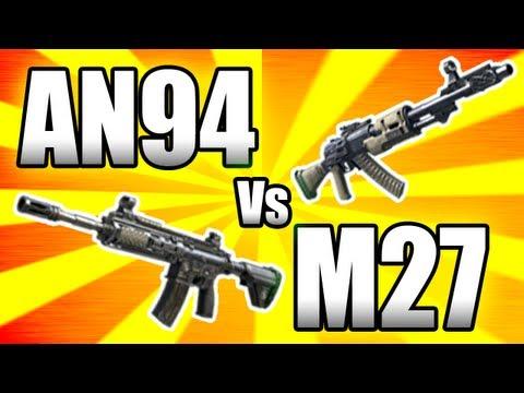 ★Black Ops 2: AN94 vs M27 - BEST ASSAULT RIFLE (BO2 Gun Breakdown)