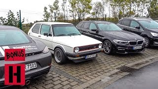 Vin Goes to Car Heaven AKA Nurburgring Parking lot