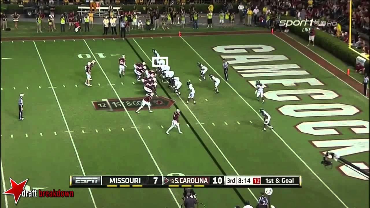 Shane Ray vs South Carolina (2014)