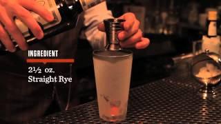 How to Make a Sazerac - Speakeasy Cocktails