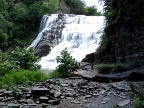 Waterfall Stillman family vacation Upstate New York