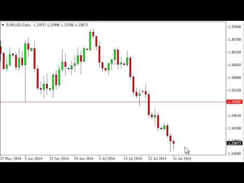 EUR/USD Technical Analysis for August 1, 2014 by FXEmpire.com