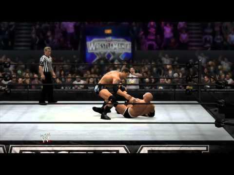 WWE 2K14 - GOLDBERG CATCHING SPEAR