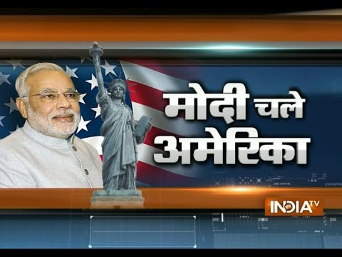 New york becomes Mini Gujrat to welcome Narendra Modi : India TV Live Reporting from New York