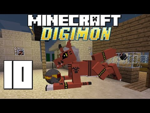 Minecraft Serie Digimon! Capitulo 10! video