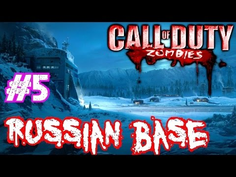 Call of Duty Custom Zombies: RUSSIAN BASE▐ Another TROLL Ending!!! (Part 5)