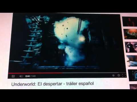 Underworld: El Despertar. Tráiler En Español HD 1080P