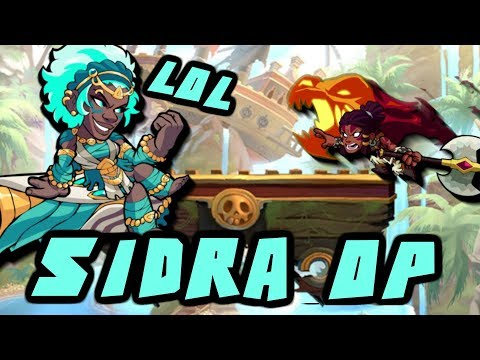 SIDRA = OP!!!  **When used properly** • Brawlhalla Gameplay • 1v1s & FFA