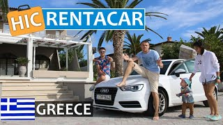 How to rent a car in Greece 🚗 Rentacar, car hire, deposit, insurance, police, road, price, gasoline
