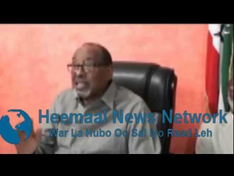 Wasiirka Wasaaradaha Somaliland Xirsi Xaaji Cali