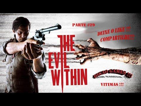 GAME PLAY THE EVIL WITHIN PARTE #29 PC !! VITIMAS !! KIDMAN SUMIU DE NOVO !!! AFF