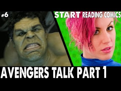 Ep6. The Avengers Movie review, AVX comic review, Hulk 2003 vs 2008, vs 2012.